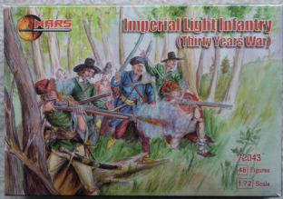 Mars 1/72 MAR72043 Imperial Light Infantry (30 Years War)